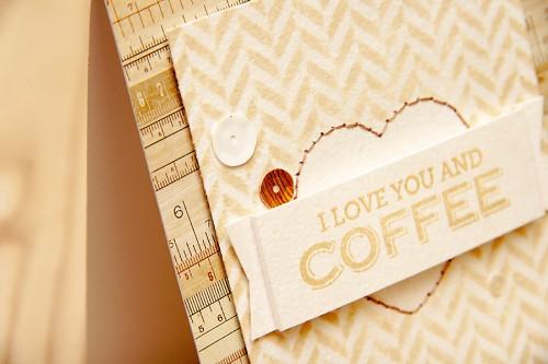 Листівка I Love You and Coffee