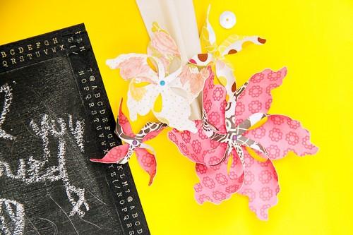 Паперові вертушки з паперу для краси