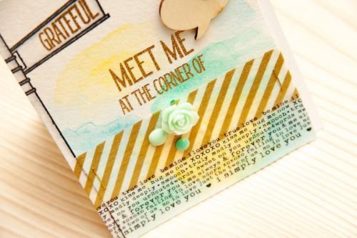 Листівка Meet Me для Neat & Tangled. День 2