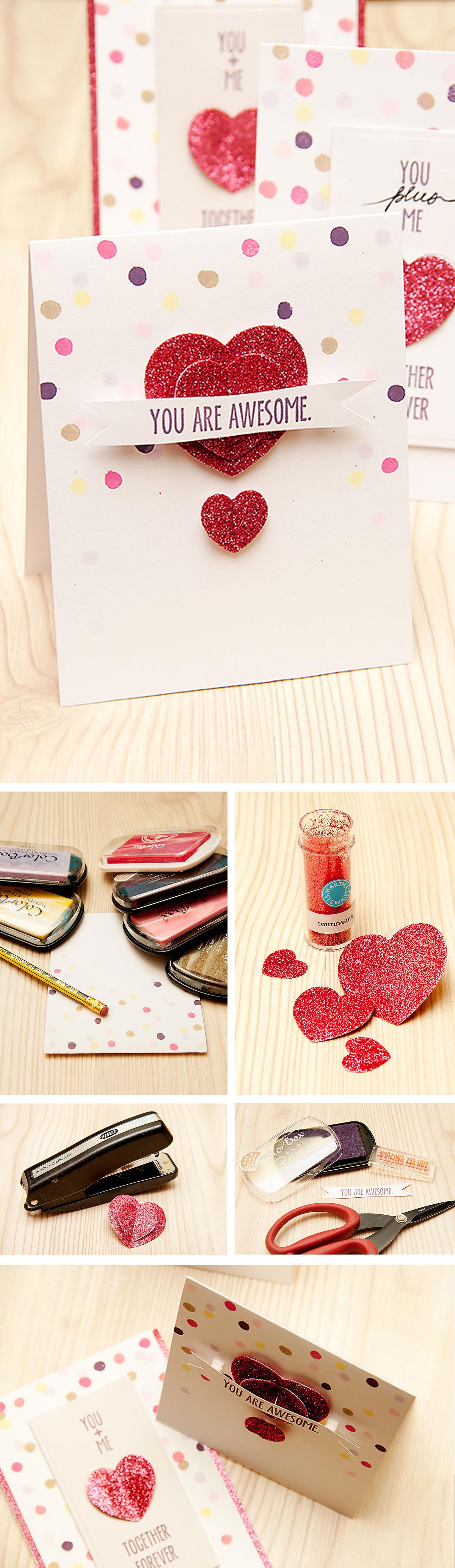 Як зробити валентинку із підручних матеріалів