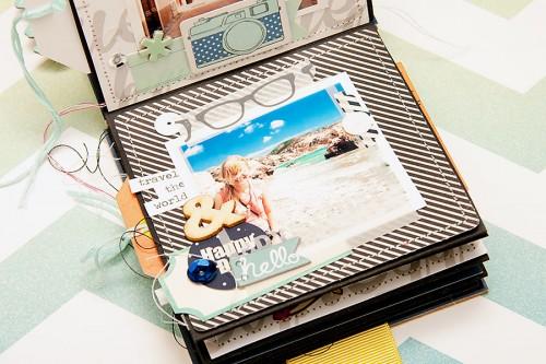 Морський міні альбом Together is My Favorite Destination
