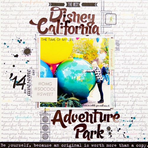 Jot Magazine Issue 6 | Yana Smakula Disney California Adventure Park LO