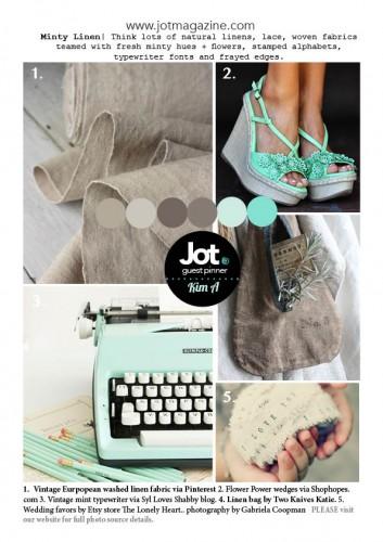 June Mood Board by Jot Magazine