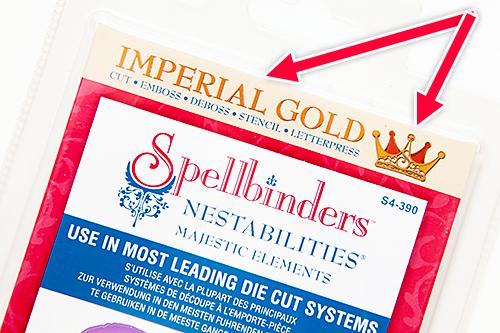 Ножі Imperial Gold від Spellbinders