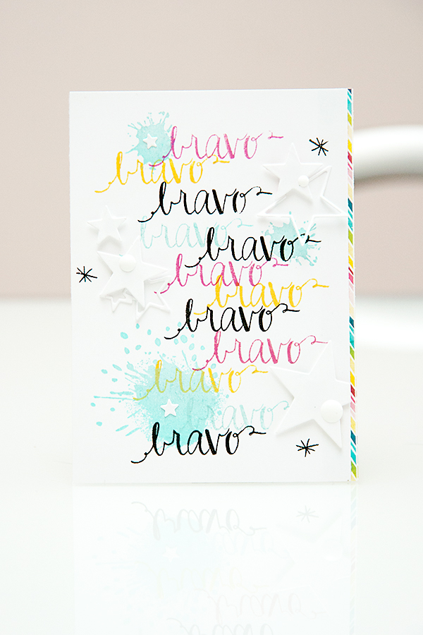 Bravo Card - Avery Elle & Hero Arts