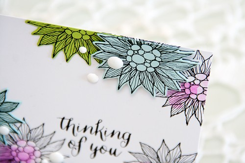 Yana Smakula | Thinking of You using stamps, dies and cardstock from #SimonSaysStamp