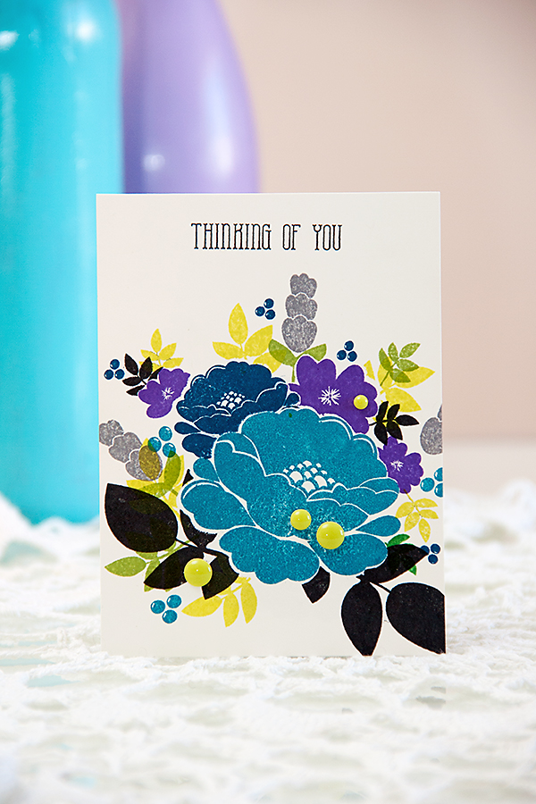 Yana Smakula - Thinking Of You | Using Avery Elle stamps