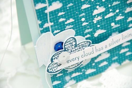 Листівка із хмарками для Neat&Tangled. День 4