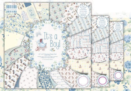 Відео! Огляд колекції Its A Boy від First Edition. Листівка New Born