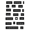 Neat & Tangled Everyday Labels Stamps