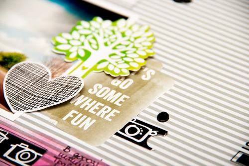 Нова колекція Plus One від Amy Tangerine + сторінка Here We Go із матеріалів цієї колекції