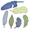 Spellbinders Feathers Dies S4-428