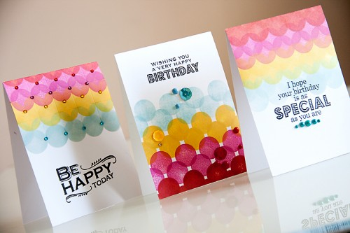 Yana Smakula | Pinterest Inspired #Hero Arts one layer stamped cards