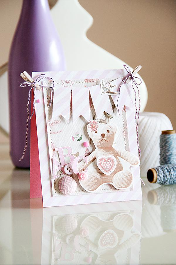 Листівка для маленької дівчники із товарів з колеції Its a Girl від First Edition