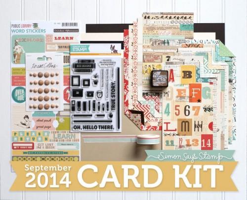 Simon Says Stamp Septermber 2014 Card Kit