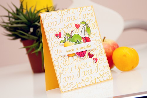 Yana Smakula | STAMPtember Simon Says Stamp - You Are So Sweet stamp set + video. Stamping, cardmaking