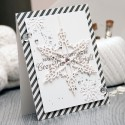 Clean & Simple Die Cutting #35 Cozy Warm & Bright Card