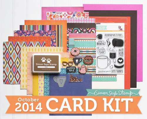 Simon Says Stamp October 2014 Card Kit. Card #1 and Video!