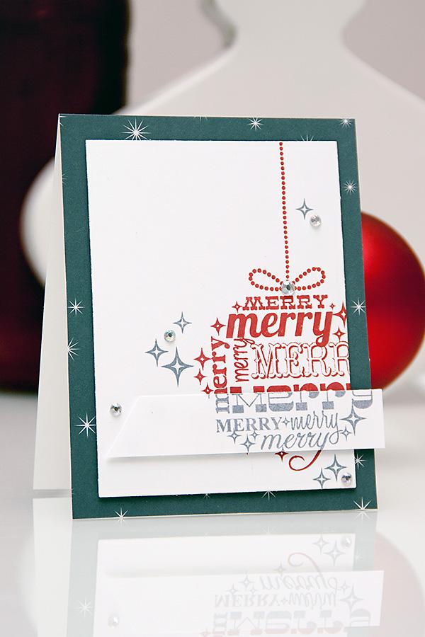 Yana Smakula | Avery Elle Merry Christmas Card
