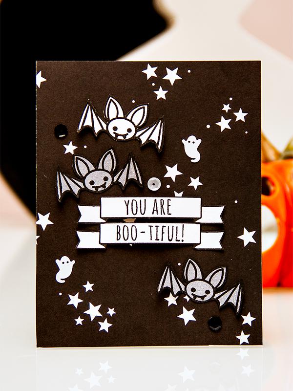 Yana Smakula   Neat & Tangled Creepy Cute Haloween Card