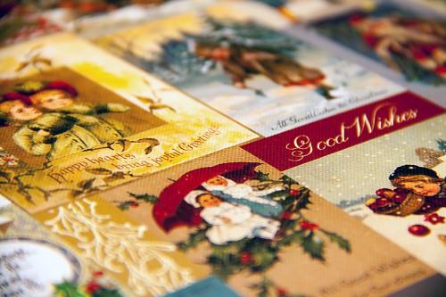 Набір паперу Vintage Noel, 30×30 см, First Edition, FEXPAD22