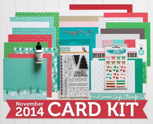 Simon Says Stamp November 2014 Card Kit - You Warm My Heart