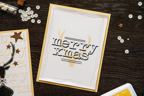 Yana Smakula | 2014 Altenew Modern Holiday Cards