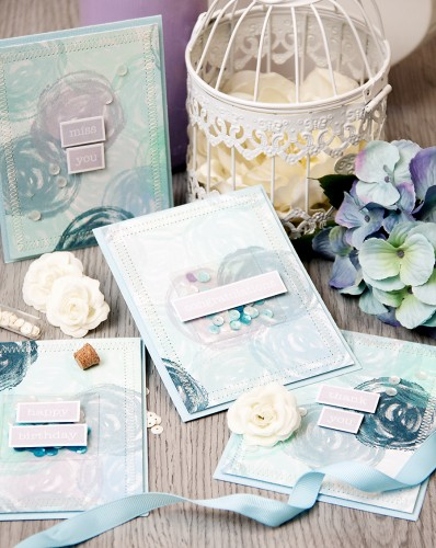 Yana Smakula | Handmade Holidays Blog Hop - A Set of All Occasion Cards #handmadeholidays