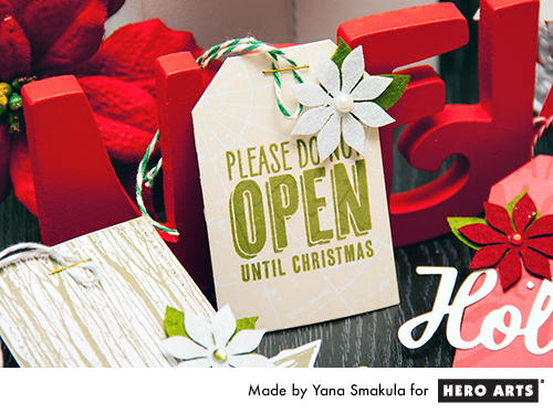 Yana Smakula | Hero Arts Holiday Tags