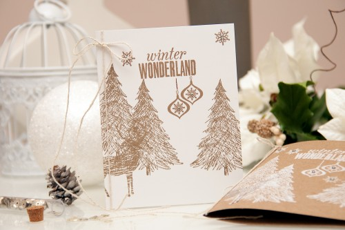 Yana Smakula | Hero Arts 2014 - Front and Back stamped holiday cards. For more cardmaking ideas and videos please visit https://www.yanasmakula.com/?lang=en