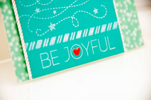 Yana Smakula | Simon Says Stamp November 2014 Card Kit - Be Joyful