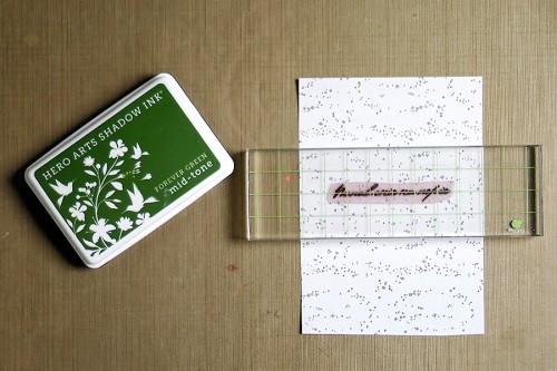 Майстерня Різдвяних Листівок 2014. День 1 - Одношарові листівки