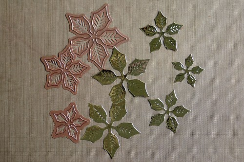 Layered Poinsettia, Spellbinders, S5-055
