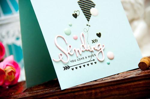 Yana Smakula | Simon Says Stamp - Sending You Love & Hugs. For more cardmaking ideas and video tutorials please visit http://www.zrobysama.com.ua/?lang=en