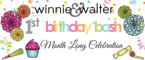 Giveaway at Winnie & Walter's Blog: