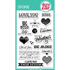 Avery Elle Lots Of Love Stamp Set