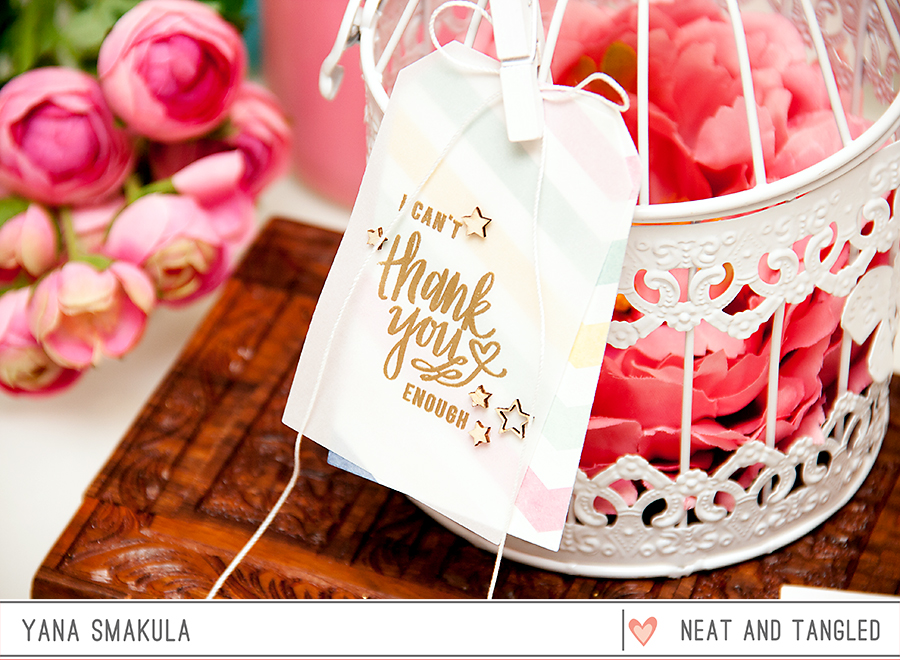 Yana Smakula | Neat & Tangled: All My Heart + Birthday Tags dies