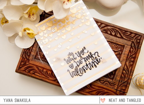 Yana Smakula | Neat & Tangled: Will You Be My Valentine?