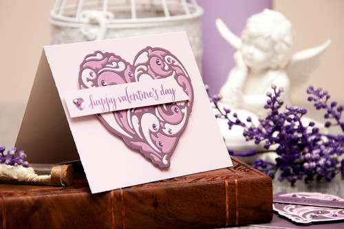 Yana Smakula | Hero Arts Lilac Valentine's Day Cards