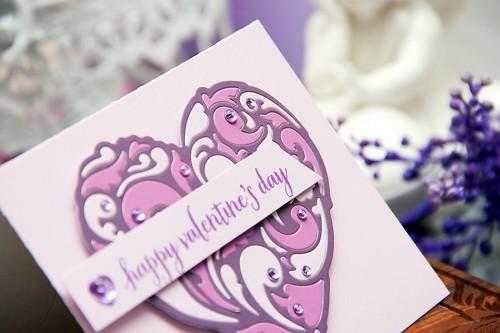 Yana Smakula | Hero Arts Lilac Valentine's Day Cards