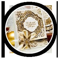 Вишукана новорічна листівка | Зроби Сам(А)
