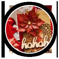 Новорічні подарункові теги із пуансеттіями | Зроби Сам(А)
