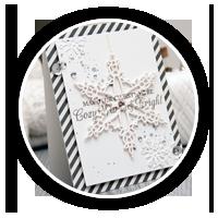 Новорічна листівка зі сніжинкою | Зроби Сам(А)