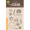 Hero Arts Stamp Your Own Succulents Stamp Set CL839