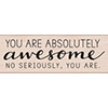 Hero Arts Rubber Stamp ABSOLUTELY AWESOME G6071