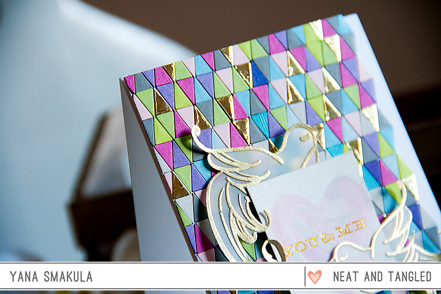 Yana Smakula | You & Me Neat & Tangled and Cosmo Cricket