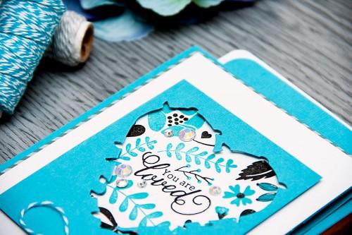 Yana Smakula | Clean & Simple Die Cutting #38. Lets use the negative! Video #cardmaking #diecutting #stamping #Spellbinders #WaffleFlower #Clearsnap