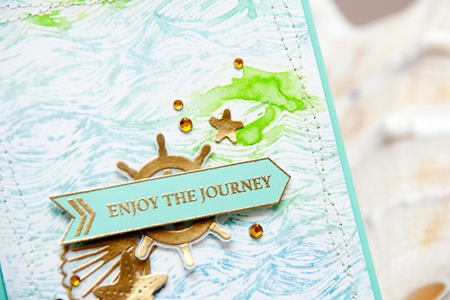 Yana Smakula | Hero Arts Watercolor Enjoy The Journey Card