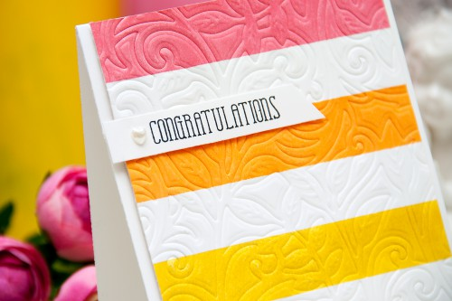 Yana Smakula | Clean & Simple Die Cutting - embossing with dies #spellbinders #averyelle