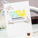 Simon Says Stamp April 2015 Card Kit – Make A Wish